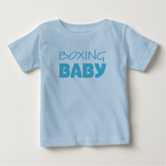 T-shirts de bébé de boxe et une seule pièce
