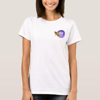 T-shirts de caducée de l'infirmier autorisé |RN