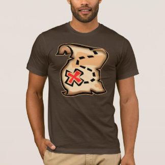 T-shirts de carte du trésor du pirate