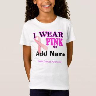 T-shirts de conscience de cancer du sein