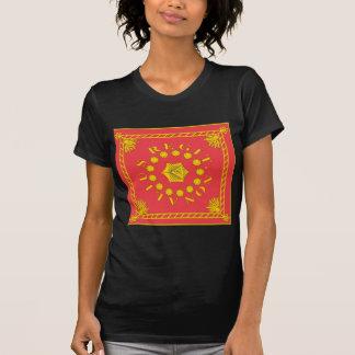 T-shirts de drapeau de la légion de Pulaski