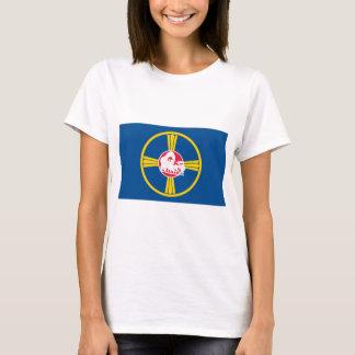T-shirts de drapeau d'Omaha