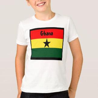 T-shirts de drapeau du Ghana