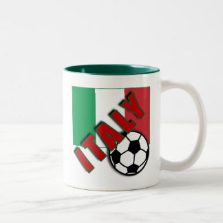 T-shirts de fan de foot du monde de l'ITALIE Tasse 2 Couleurs