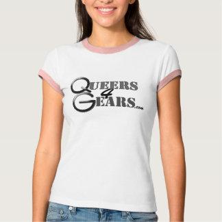 T-shirts de femelle de Queers4Gears
