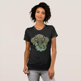 T-shirts de Ganesh, pièce en t d'art de Ganesha de