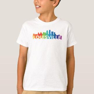 T-shirts de Hanes Tagless du garçon de fierté de