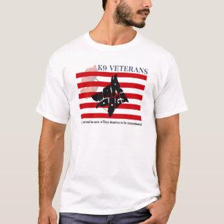 T-shirts de jour de souvenir des vétérans K9