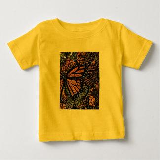T-shirts de la jeunesse de MOTIF de PAPILLON