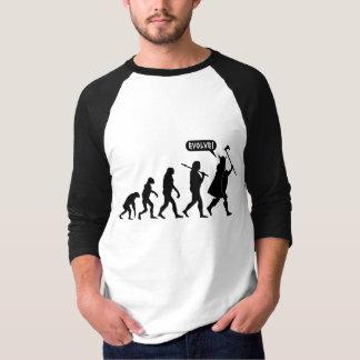 T-shirts de lumière d'évolution de Viking
