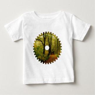 T-shirts de nourrisson de VITESSE de NATURE de
