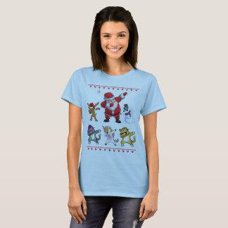 T-shirts de père Noël de Noël