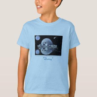 T-shirts de PHOQUE de HARPÉ d'art et d'histoire de