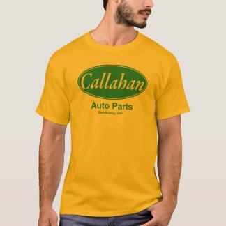 T-shirts de pièces d'auto de Callahan