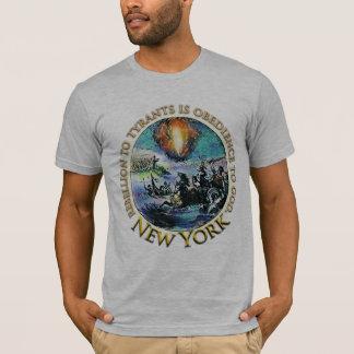 T-shirts de thé de New York