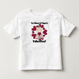 T-shirts de Valentine de Nana et du papa