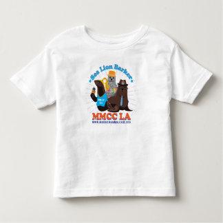 T-shirts d'enfant en bas âge de personnel de