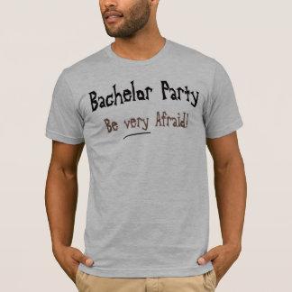 T-shirts d'enterrement de vie de jeune garçon