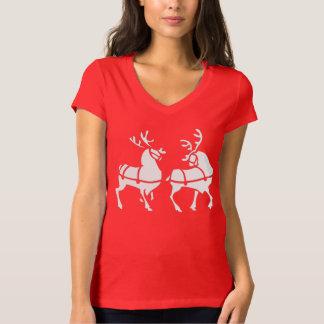 T-shirts des vacances des femmes de chemises de