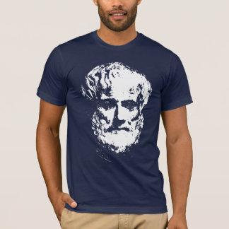 T-shirts d'obscurité d'Aristote