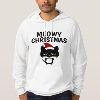 T-shirts drôle de chat de Noël, NOËL de MEOWY