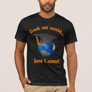 T-shirts drôles d'obtention du diplôme