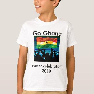 T-shirts du football de coupe du monde du Ghana
