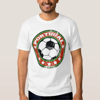 T-shirts du football du Portugal (affligé)