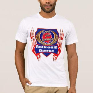 T-shirts d'usage de danse de salle de bal