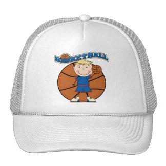 T-shirts et cadeaux blonds de garçon de casquette trucker