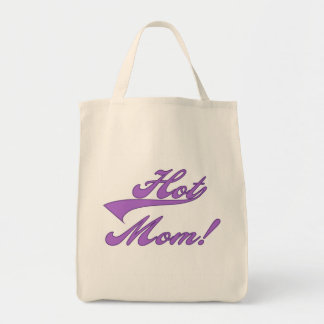T-shirts et cadeaux chauds de maman sacs en toile