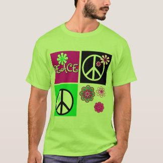T-shirts et cadeaux chauds de paix de couleurs