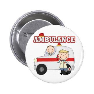 T-shirts et cadeaux d ambulance badge avec épingle