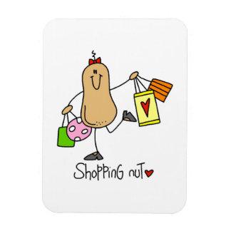 T-shirts et cadeaux d écrou d achats magnets en rectangle