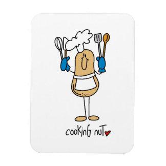 T-shirts et cadeaux d écrou de cuisine magnets