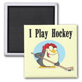 T-shirts et cadeaux d hockey de pingouin magnets pour réfrigérateur