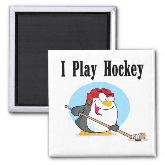 T-shirts et cadeaux d hockey de pingouin aimants