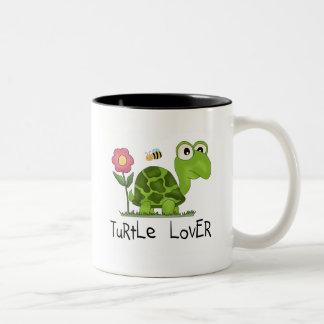 T-shirts et cadeaux d'amant de tortue tasse 2 couleurs