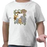 T-shirts et cadeaux d'animaux de jungle de bébé