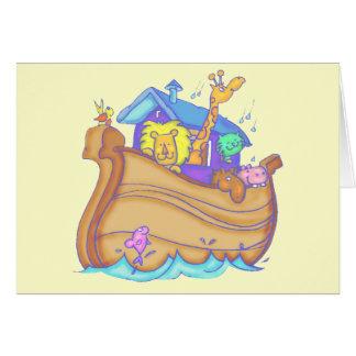 T-shirts et cadeaux d'arche de Noahs d'enfants Cartes