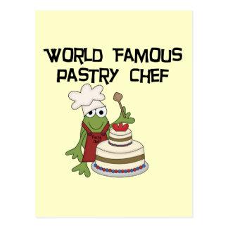 T-shirts et cadeaux de chef de pâtisserie de cartes postales