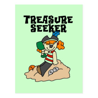 T-shirts et cadeaux de chercheur de trésor cartes postales