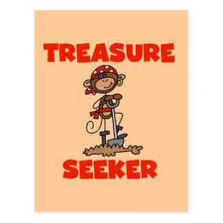 T-shirts et cadeaux de chercheur de trésor de cartes postales