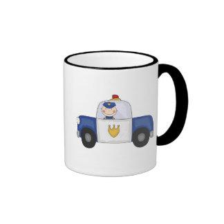 T-shirts et cadeaux de croiseur de police mug ringer