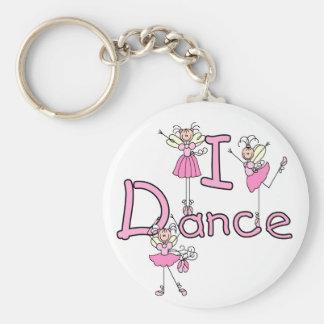 T-shirts et cadeaux de danse de la ballerine I Porte-clés