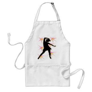 T-shirts et cadeaux de diva de danse tablier