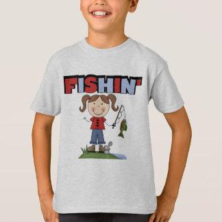 T-shirts et cadeaux de fille de Fishin