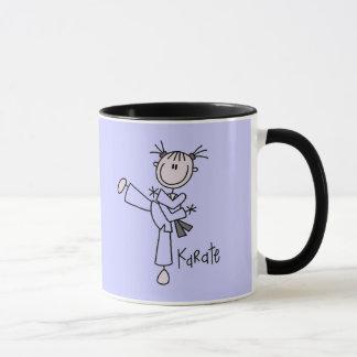 T-shirts et cadeaux de fille de karaté mug