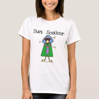 T-shirts et cadeaux de flamant de trempeur de Sun