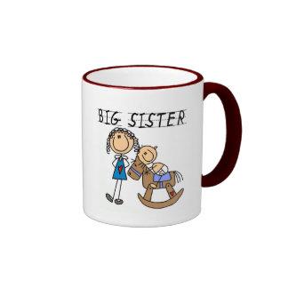 T-shirts et cadeaux de frère de bébé de grande mug ringer